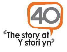 The Story at 40 logo