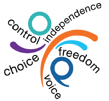 Control, independence, freedom, choice and voice.