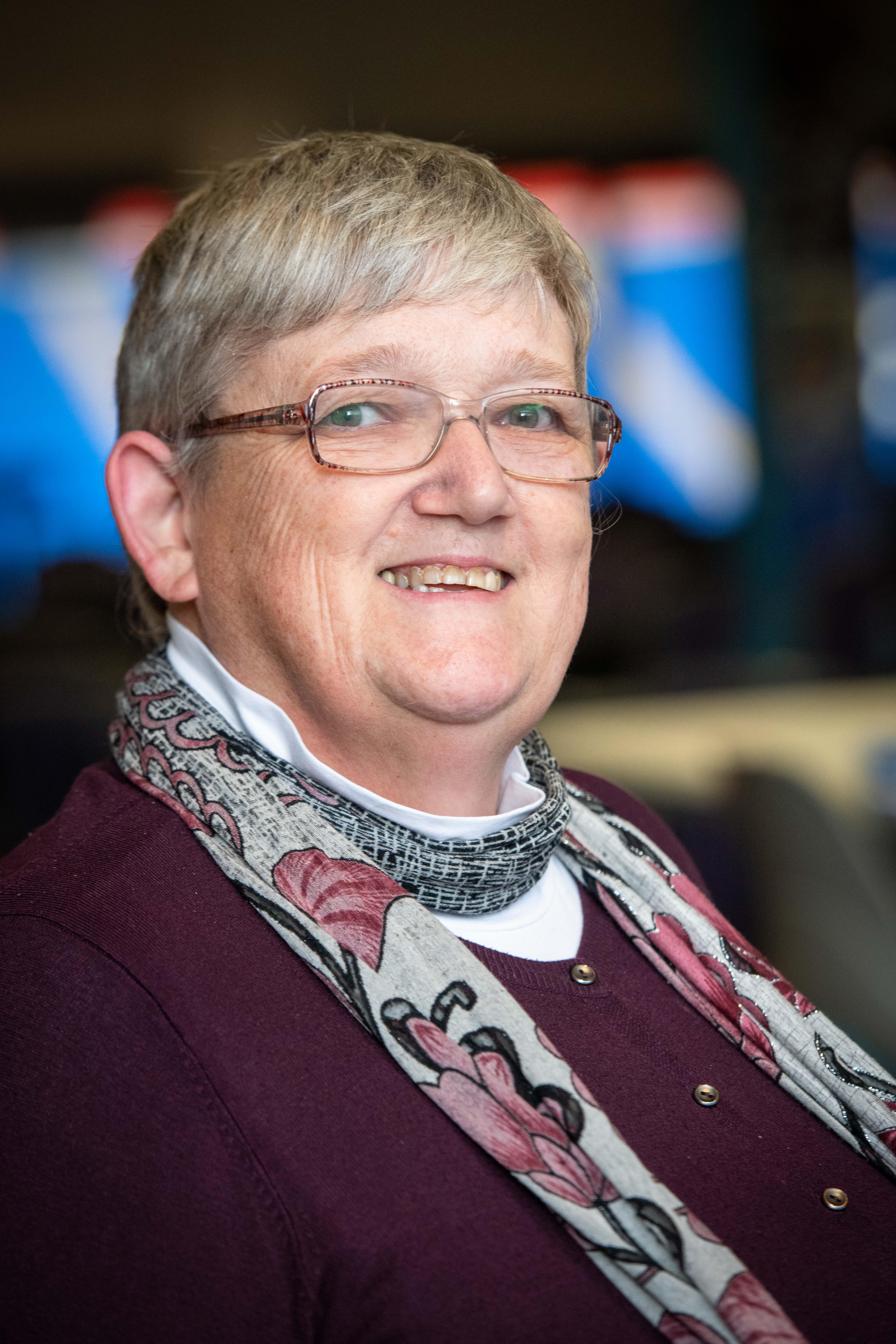 Mandi Glover, treasurer of the DW board
