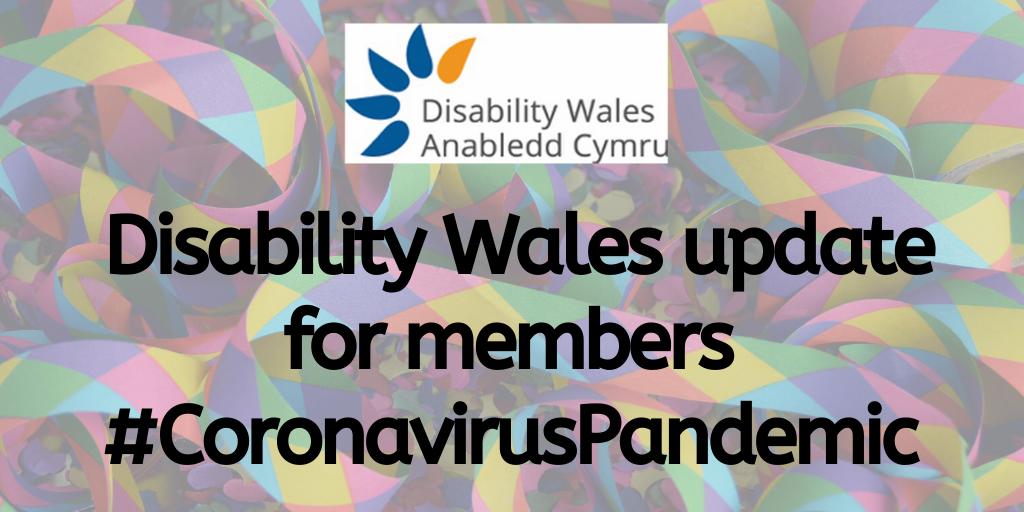 disability wales update for members # coronavirus pandemic