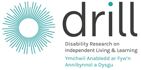 bilingual DRILL logo disability research into independent living and learning